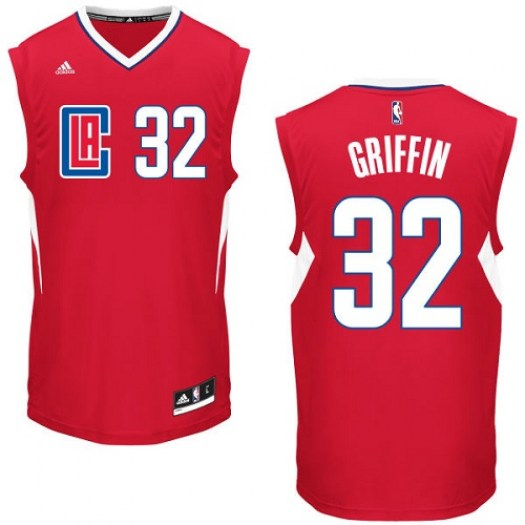 Youth Blake Griffin Los Angeles Clippers Adidas Swingman Red Road Jersey